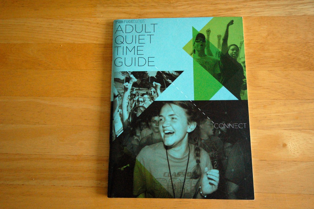 Portfolio Print Piece - Fuge Adult Quiet Time Guide