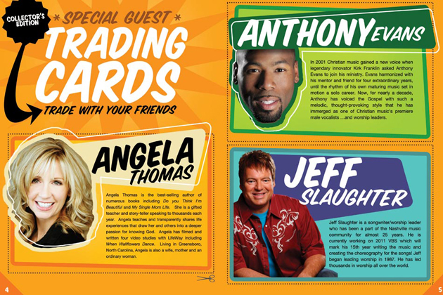 Kids Conference - Trading Cards