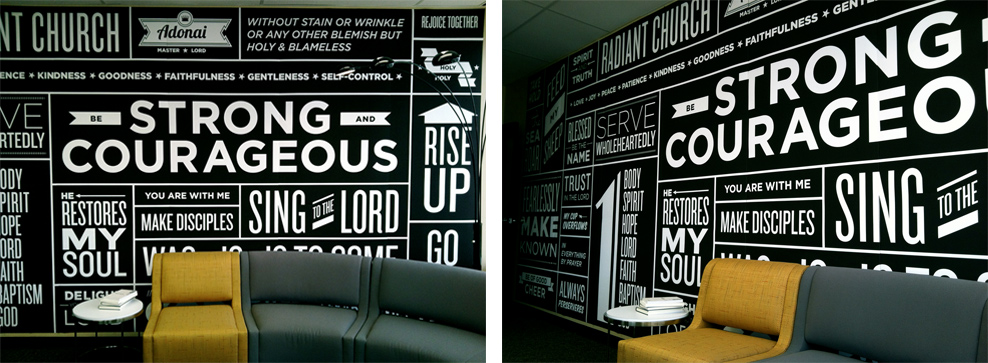 Typography Wall Art. Previous Portfolio Piece
