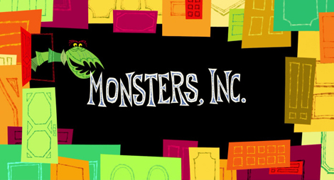 Monsters Inc Title Sequence