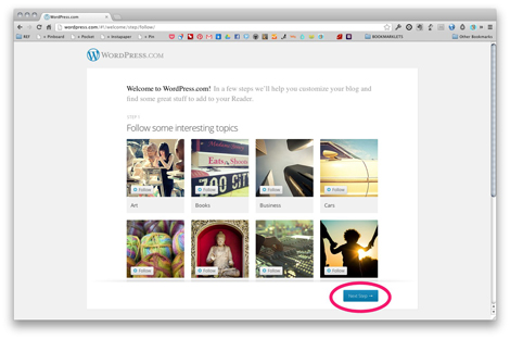 Wordpress - Getting Started - Page 1