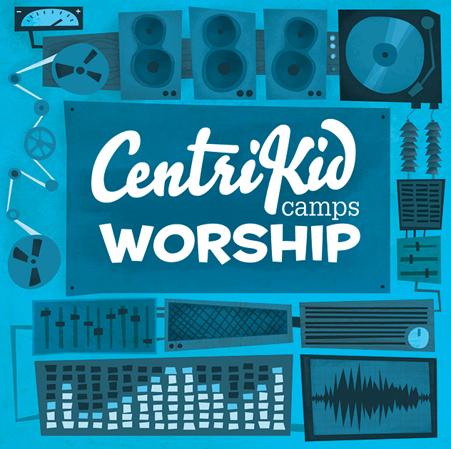 CentriKid Camps Worship CD