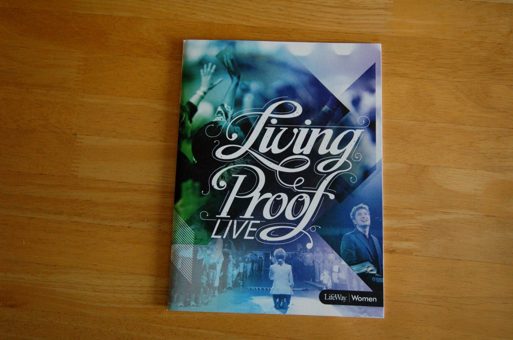 Print Portfolio Piece - Living Proof Live 2012